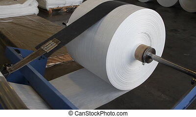 Big polymeric tape roll unreel for printing press - Big...