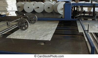 Big polymeric tape roll unreel for printing press - Big...