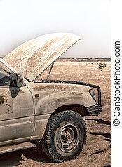 big problem in  africa     the  broken engine in the desert