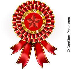 Big Red Award Label