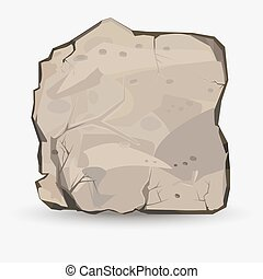 Big Rock stone - Rock stone in style. Big boulder. Mineral ...