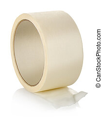 Big roll of insulating tape