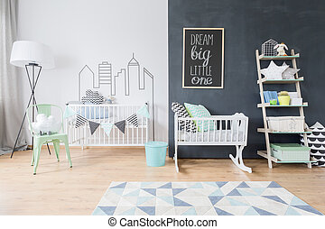 Big room for little one