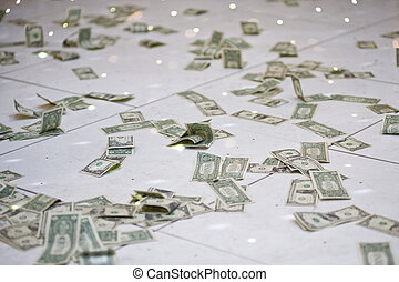 big sack of money - big money earned in very short time
