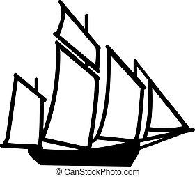 Big Sailing boat