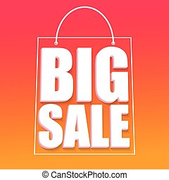 Big sale advertisement