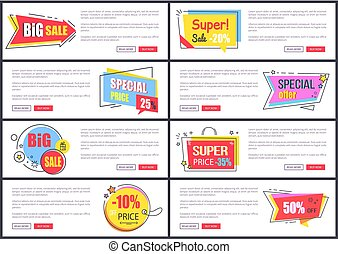 Big Sale and Special Offer on Vector Illustration