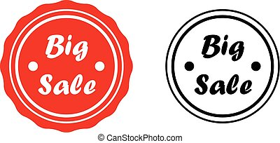 BIG SALE - Badge set