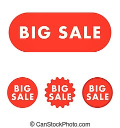Big sale button