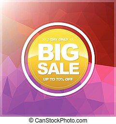 Big Sale Circle banner