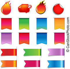 Big Sale Colorful Labels Set