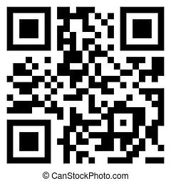 Big Sale data in qr code. (modern bar code). EPS 8 vector file included