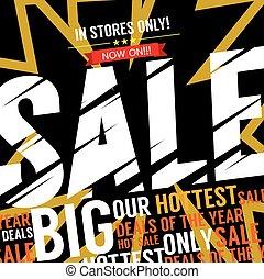 Big Sale Deal Vector Illustration