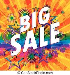 Big sale design vector illustration