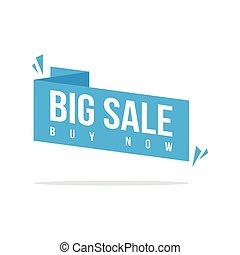 Big Sale Discount offer price label