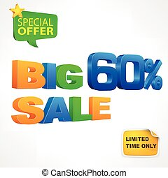 Big sale inscription 60