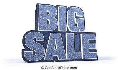 Big Sale Jeans Sales Campaign Title