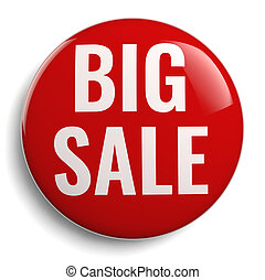 Big Sale Marketing Red Icon