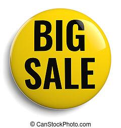 Big Sale Marketing Yellow Icon