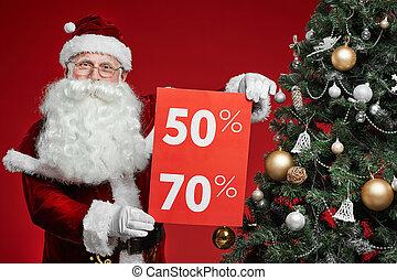 Big sale on Christmas