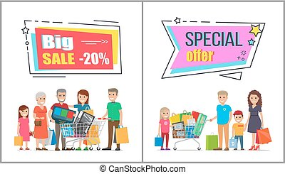 Big Sale on Wholesale Purchases for Big Families