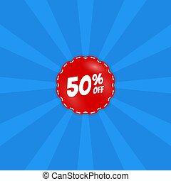 Big Sale poster, banner. Special offer. Vector illustration