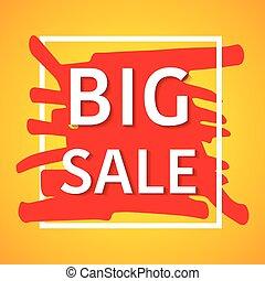 Big sale poster