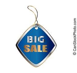 Big sale price tag