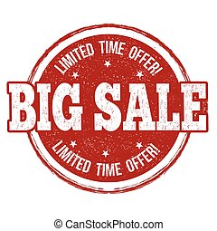 Big sale stamp