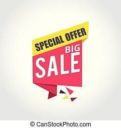 Big sale Super Sale, special offer banner