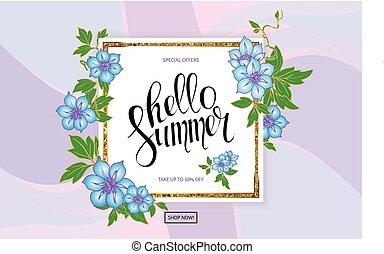 Big sale vector illustration banner.