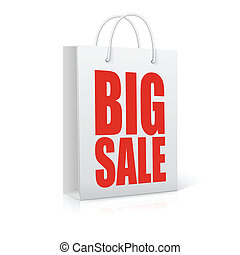 Big sale,  vector illustration