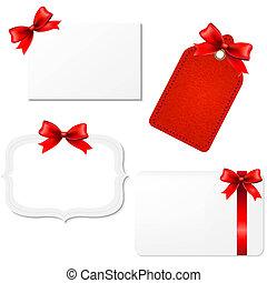 Big Set Blank Gift Tags