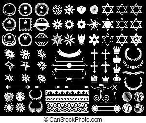 Big set of design elements
