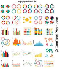 Big set of infographic elements