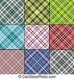 Big set seamless patterns