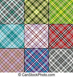 Big set seamless patterns - Big collection classical...