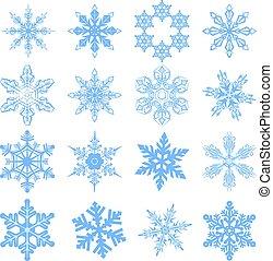Big set Snowflake