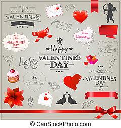 Big Set Valentines Day Icons