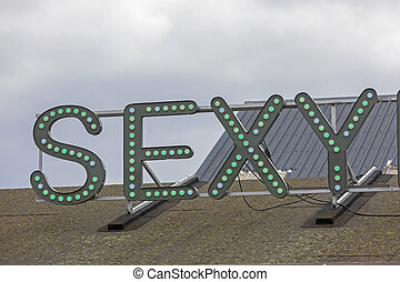 Sexy Light Sign