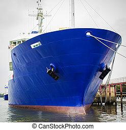 big ship bow
