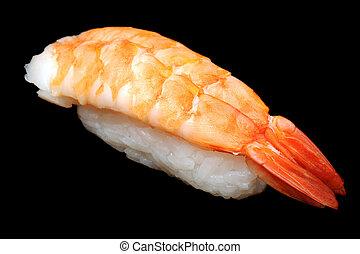 big shrimp nigirizushi (nigiri sushi)