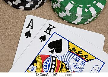 A very nice set of hole cards