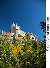 big spanish castle