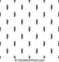 Big spica pattern vector