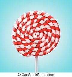 Big spiral lollipop