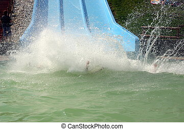 Large Water Splash Clip Art