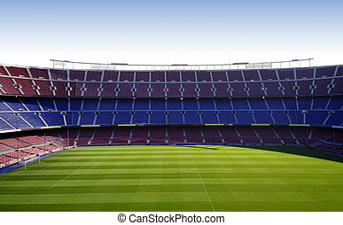 big stadium - FC Barcelona (Nou Camp) football stadium
