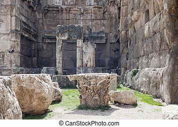 Baalbek ruins, Lebanon