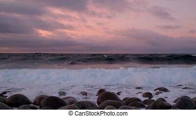 Big storm in the Arctic Ocean